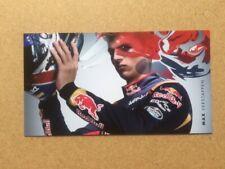 More details for max verstappen original promotional toro rosso card