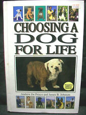 CHOOSING A DOG FOR LIFE PUPPY ANIMAL ALL BREEDS PET LOVER GIFT HARDCOVER BOOK