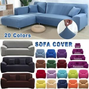 Sofa Slipcover Stretch Couch Cushion Protector Settee Covers Elastic Loveseat