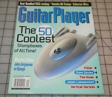 Guitar Player Magazine September 2002 Top 50 pedals all time