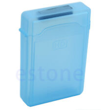 3,5 pouces IDE HDD SATA Hard Drive Storage Case Blue Box