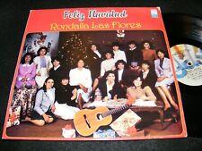 FELIZ Navidad LP 1985 Made In Mexico Christmas Clasic GEM RONDALLA DE LAS Flores