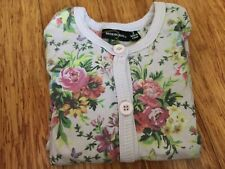 Rock Your Kid Flower Lilac Cardigan Size 3 years