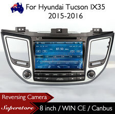 "8"" Car DVD Nav GPS Touch Screen Radio Stereo for Hyundai Tucson ix35 2015-2016"