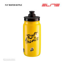 NEW Elite TOUR DE FRANCE FLY Lightweight Water Bottle BPA Free 550ml TDF YELLOW
