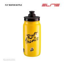 NEW Elite TOUR DE FRANCE FLY Lightweight Water Bottle BPA Free 550ml TDF YELLOW