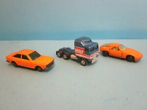 Vintage 3 x Guisval Diecast Vehicles. Incomplete, Play worn Condition