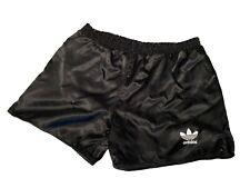 Adidas vintage Sprinter Shorts Gr. 6 M Sporthose 90s shiny Running schwarz FS4