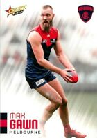 ✺New✺ 2020 MELBOURNE DEMONS AFL Card MAX GAWN Footy Stars