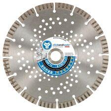 Diamanttrennscheibe clickandtools® SHP 12 universal - Beton armiert, harte Klin