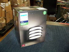 Philips Hue White Lucca Outdoor Wall Light Black LED 1734630V0 New