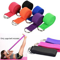 Leg Women Fitness Accessories Yoga Stretch Strap Exercise Gym Rope D-Ring Belt