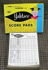 Vintage 1956 YAHTZEE Game ES Lowe In Family Board Games Collection