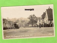Hogarth Hill Hampstead Garden Suburb London Horse & Cart unused RP pc Ref B25