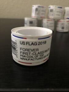 2018 U.S Flag Forever Postage stamp rolls (1000)