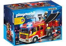 Playmobil 5363 - Camión de Bomberos con Luces y Sonido - NUEVO