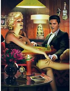 Legends of the Silver Screen Puzzle Tin Box 750 Piece Elvis & Marilyn Sealed NEW