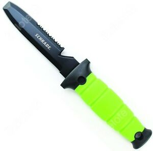 Schrade Water Rat Dive Knife Combo Edge Blunt Tip Phosphorescence TPR Handle WR3