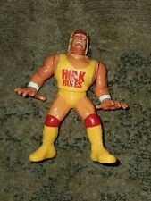 "HULK HOGAN Vintage Hasbro 4.5"" WWF Wrestling Action Figure WWE 1990 Hulk Rules"