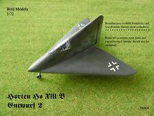 Horten Ho XIII B Entwurf 2     1/72 Bird Models Resinbausatz / resin kit