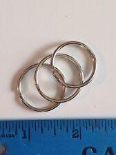 Stainless Steel 20mm Split/key rings. 500 Pcs. Free Ship Usa