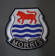 """MORRIS Iron-On Embroidered Automotive Car Patch 2.50"""" Minor Traveler Oxford"""