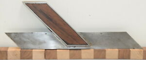 """Vintage 10"""" Stanley No. 16 Mitre Miter Square Early Type 1 (INV L299)"""