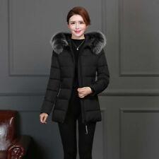 Winter Jacket Women Short Slim Hooded Coat Ladies Outdoor Warm Overcoat Parka
