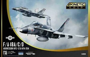 KINETIC K48088 1:48 F/A-18A/D AGRESSOR