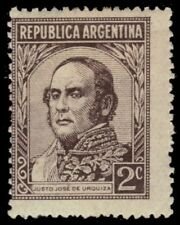 "ARGENTINA 525 (Mi500) - Justo Jose de Urquiza ""1945 Printing"" (pf55193)"