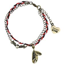 Kimmidoll Love KLF072 Raven Charm Bracelet
