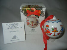 Hutschenreuther Bola de Navidad Porcelana 1995 (Mi Art.No. 1995-6)