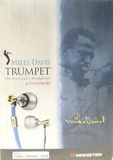 Monster Miles Davis Trumpet In-Ear Headphones W/ ControlTalk