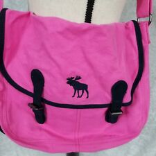 Abercrombie & Fitch Messenger Bag Pink Small