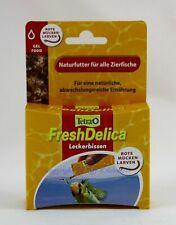 Tetra Freshdelica Bloodworms 16x3g for All Aquarium Fish 16,44 €/ 100g