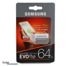 Memoria Memory Card Micro SD SDXC Samsung Evo Plus 64GB 4K UHD Classe 10 HD