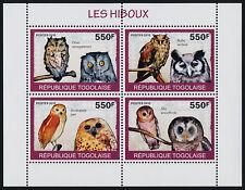 Togo MI 3144-7 sheetlet MNH Birds, Owls