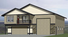 44x48 Apartment with 2-Car 1-RV Garage - PDF FloorPlan - 1,645 sqft - Model 5B