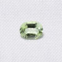 Echter Hellgrüner Turmalin Oval 0.25ct 4.5x3.5mm