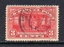 Scott # Q3, Used, VF, 3¢ Parcel Post, 1913, Light Cancel, Waupun, Wisconsin