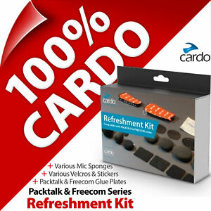 Cardo Refreshment Kit Pads Glue Plates Stickers Sponges for PACKTALK and FREECOM
