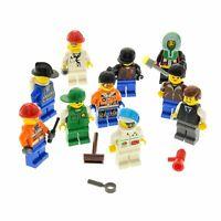 10 x Lego System Minifiguren Figuren Zubehör Haare Mütze zufällig bunt gemischt