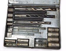 VTG Ridgid LonGrip  No. 10 Screw Extractor Incomplete Set w/ Metal Case