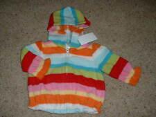 NEW Baby Girls Gymboree Cozy Cutie Fleece Hoodie Size 3-6 months mos Winter NWT
