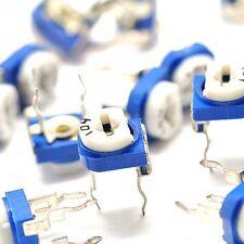 10PCS 1M ohm 105 Trimpot Trimmer Potentiometer Adjustable Resistance NEW