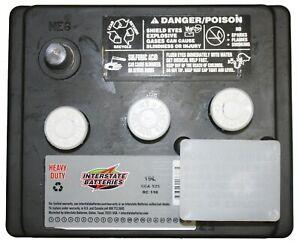 6 Volt Interstate Battery 19L, Porsche 356A, 356B, 356C, New W/Warranty