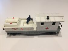 Lionel # 6814 Rescue Caboose - Rescue Unit - White - 1959 - 1961 POST WAR