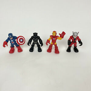 Imaginext Avengers Marvel Heroes Figures Lot Captain America Black Panther