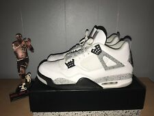 "AIR JORDAN 4 RETRO OG ""WHITE CEMENT 2016 RELEASE"" SIZE 14"