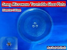 Smeg Microwave Spare Parts Glass Turntable Plate Platter 340mm (W12) Brand New